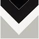 White Frame Black Matt