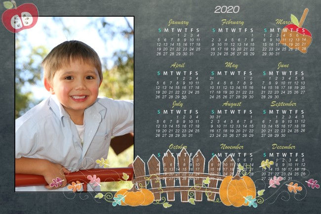 Childcare calendar